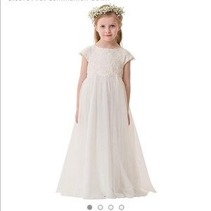 Other - First Communion/Flower Girl White Dress